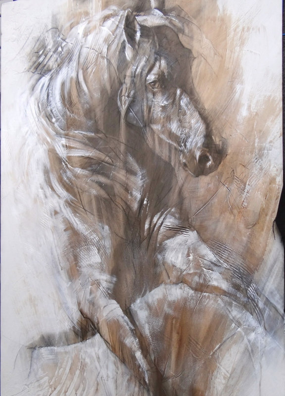 Ascension Horse 40X60