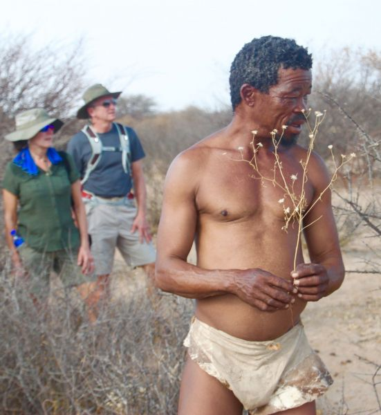 While at grasslands, we also get to spend some time in the desert with the San bushman