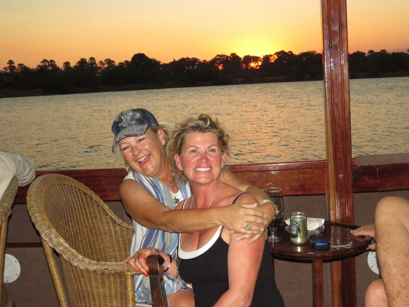 Our last day of our trip we take a beautiful cruise on  the mighty Zambezi River to watch the sunset