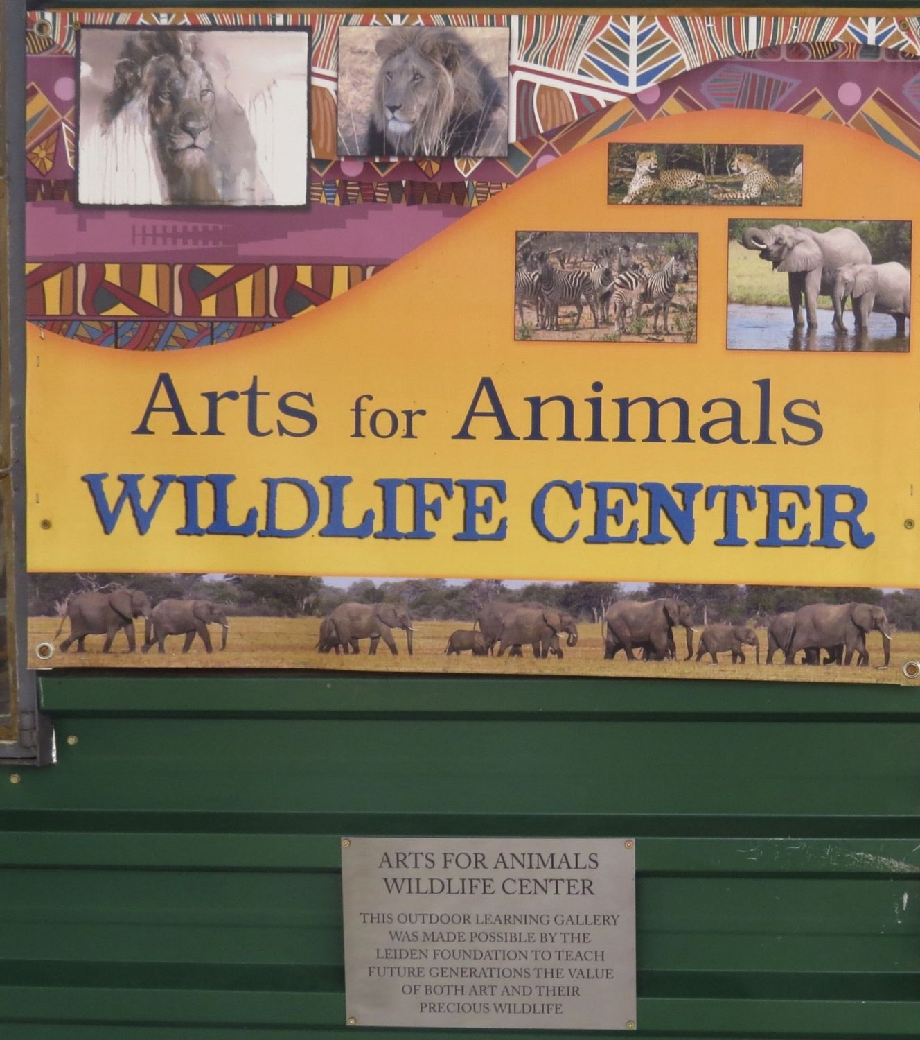 Our wildlife Center works with hundreds of children every year